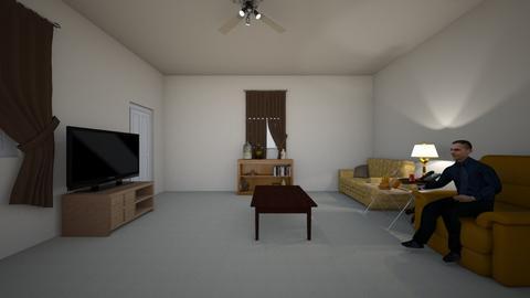 Bertie Apartment 02 - Living room  - by WestVirginiaRebel