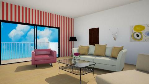 seaside room - Living room - by AnaZderic
