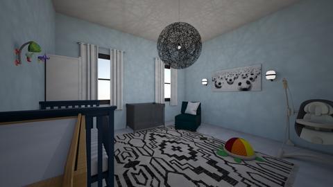 nursery for a boy - Kids room  - by Hila Meir
