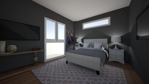 ModernLAmansionBedroomLay - Modern - Bedroom  - by jade1111