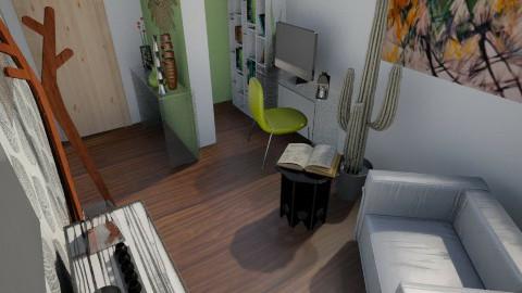 Nakagi Capsule Room lo - Living room - by BlueFede