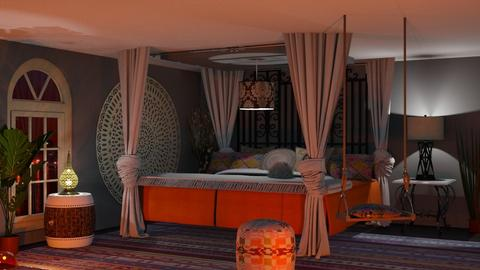 bohemian - Modern - Bedroom  - by Sue Bonstra