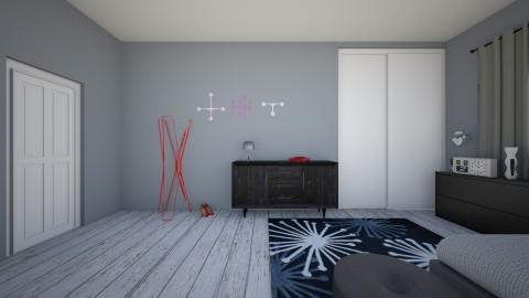 Danny Quinn 06 ModRoom 3 - Retro - Bedroom  - by dnnyqnn