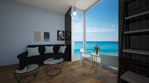Mint - Living room  - by Meghan White