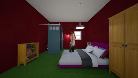barn themed bedroom - by cb28026