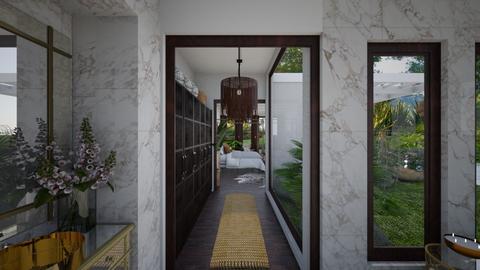 Guest Corridor View 1 - Garden  - by Fofinha