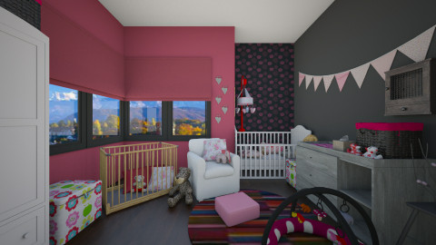 Nursery - Eclectic - Bedroom  - by martinabb