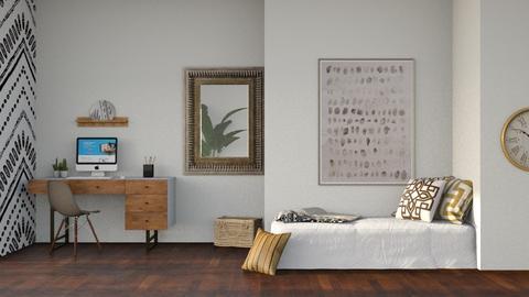Sadi - Modern - Bedroom  - by CitrusSunrise