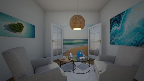 my salon panoramique  - Living room  - by juliesalam