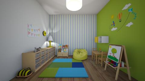 play room - Kids room - by yisca