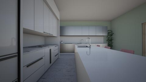 cool kitchen - Kitchen  - by blairwaldorf1115