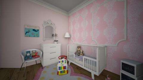 Baby Girl Room - Kids room  - by Laken Barnett