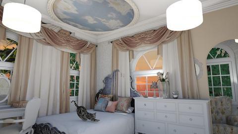 Shabby uwu - Rustic - Bedroom  - by HIHELLOHI