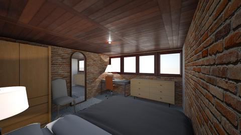 Bedroom front view - Bedroom  - by veravdn