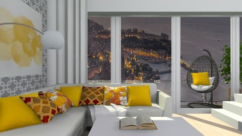 Penthouse City View - Living room  - by deleted_1513655778_Valencey14