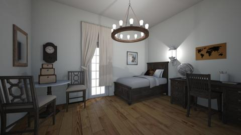 Old style - Retro - Bedroom - by nadja976