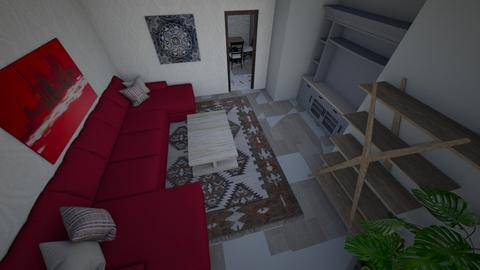 winter living room - Living room  - by Lillyanneb