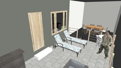 Patio extension - by Diane Hahn