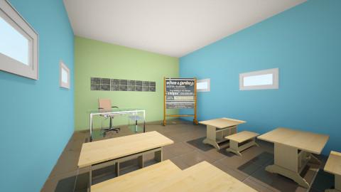 salon  de ingles - Minimal - Office - by ASU ARQUITECTURA