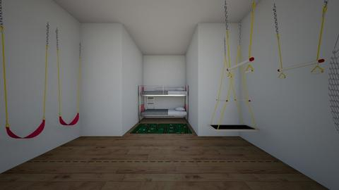 Kids play room and bed - Kids room  - by Skellyo