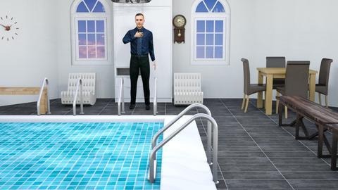 Hotel Pool  - by Brady120