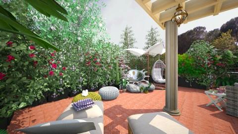 TERRAZZA SUL TEVERE - Vintage - Garden  - by PROGETIM