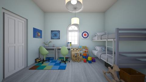 Boys Bedroom - Kids room - by Chicken202