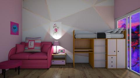 For DemiGirl9 - Feminine - Bedroom  - by Itsavannah