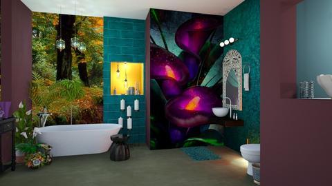 Calla Lily Bathroom - Bathroom  - by Feeny