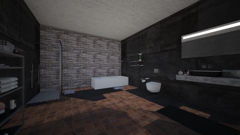 vars bathroom - Living room - by varshitha