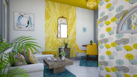 maxi living - Modern - Living room - by zayneb_17