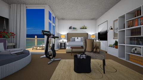 mid century modern - Bedroom - by allday08