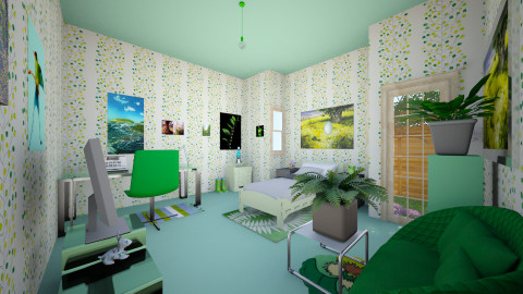 kiki3 - Modern - Kids room  - by Kristina Jokovic