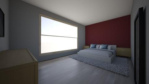 cozy bedroom - Minimal - Bedroom  - by abbieberg3