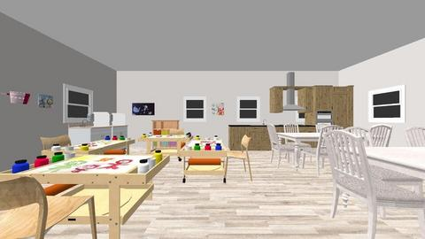 Design of Free Play - Kids room  - by lily1221