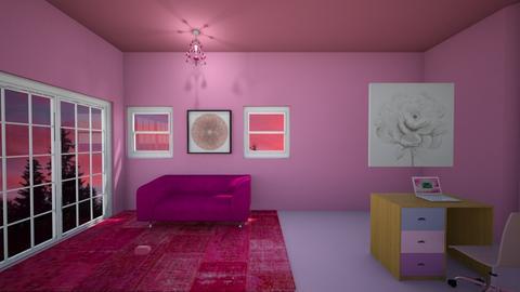 rosey room - Living room  - by dunlopgirl