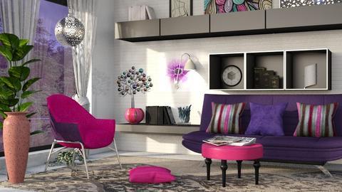 Stylish room  - Modern - Living room  - by Oyisha