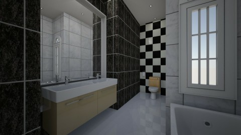 WC - Retro - Bathroom  - by MarquiGames