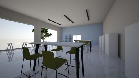 sala audiovisual - Modern - Office  - by cyerena119