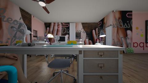 Distheos Nail Lounge - Modern - Office  - by malikaf