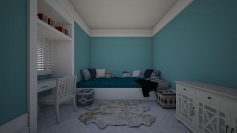 blue - Bedroom  - by VEROCHKA