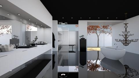 Tranquility Bathroom - Minimal - Bathroom  - by Claudia Correia