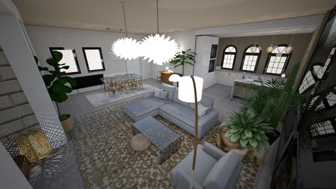 Light Modern Boho  - Living room  - by Carline1992