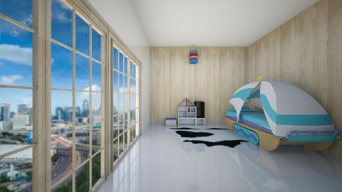 Boys Bedroom - Modern - Kids room  - by deleted_1485651306_Jelly901