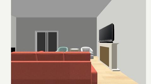 Redgate Living Room 7 ET - Living room  - by evekarate