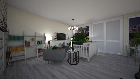 NEW YORK STUDIO living 1  - by dreabaas14