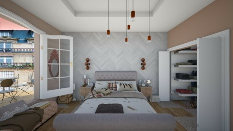 Somewhere - Classic - Bedroom  - by anairdna