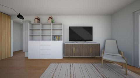 Barrow St apt Aug 21 4 - Modern - Living room  - by Considered Living
