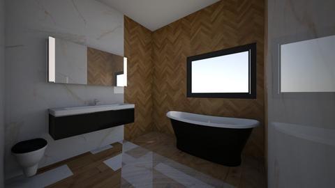 a - Bathroom  - by Sision