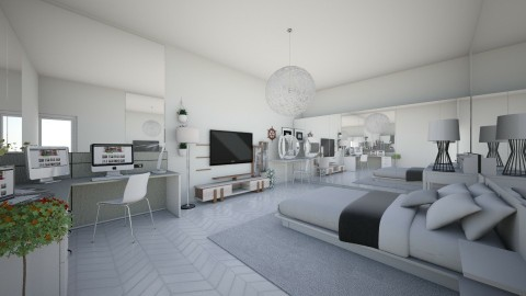 dream room - Bedroom - by nguyenlinh2005